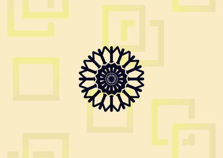 Snowflake icon. Illusztráció