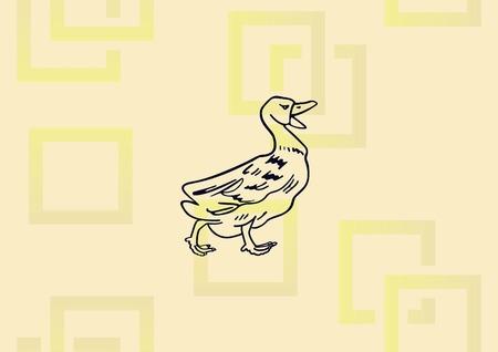 Duck icon vector illustration