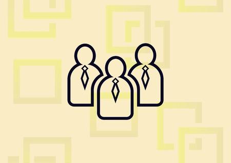 Businessman  icon vector illustration.