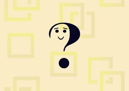 Question mark  icon vector illustration.