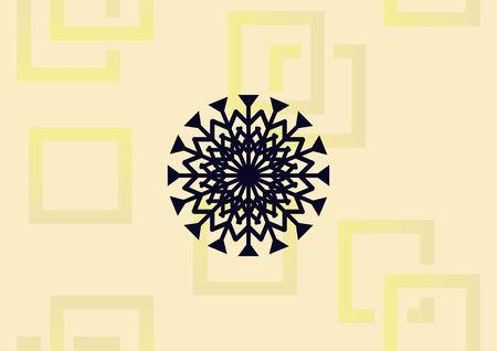 Snowflake icon vector illustration. Illusztráció