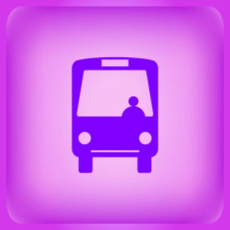 Bus icon Vector illustration.