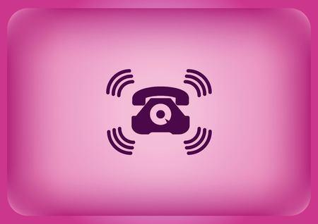 Ringer icon Stock Illustratie