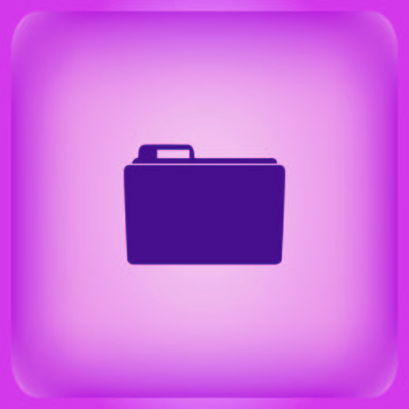Folders and files icon Vector illustration.