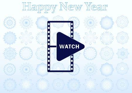 Watch see icon Vector Illustration