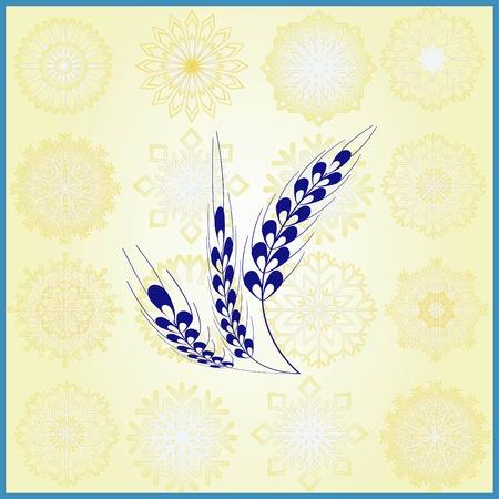 Wheat  icon Ilustrace