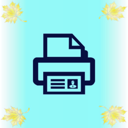 Printer icon Ilustrace