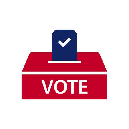 Icona tema di elezione Vettoriali
