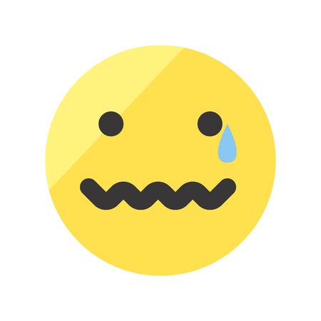 Set von emojis auf weißem hintergrund isoliert. Standard-Bild - 82741849