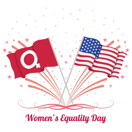 Womens equality day Illustration