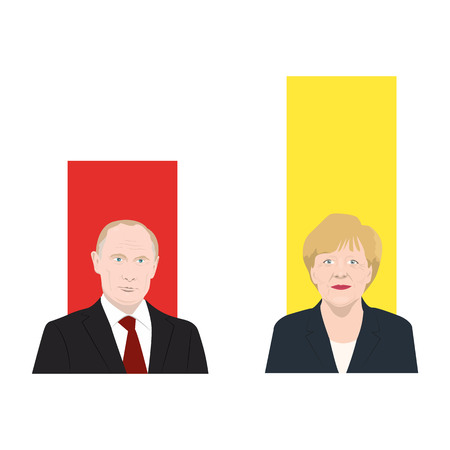 World leaders theme Stock Photo