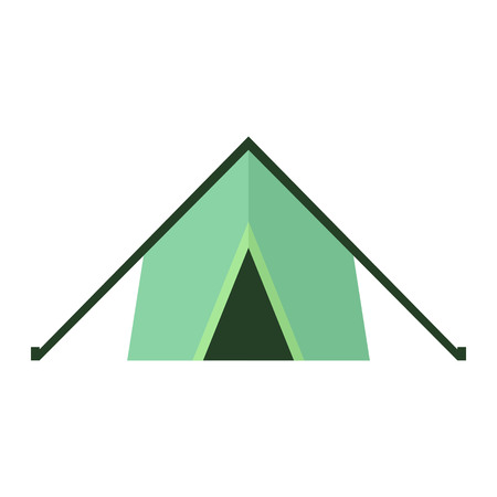 Tent represent as Attributes for summer sports activities