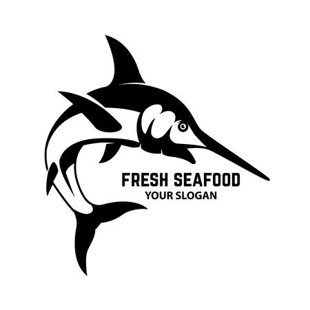 Swordfish icon Vector illustration