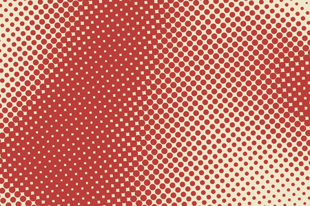 Abstract background with halftone color stains. Vector illustration Illustration