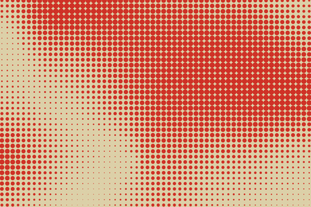 ink stain: Abstract background with halftone color stains. Vector illustration Illustration