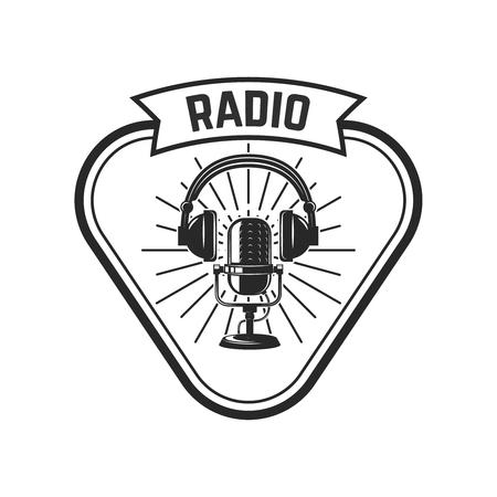 Retro Radio Logo Stock Photos And Images