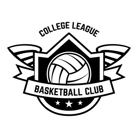 Basketball Club Emblem template design