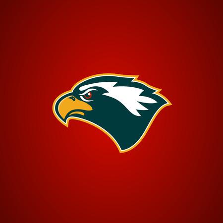 Eagle head sign