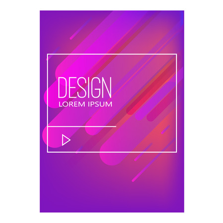 Abstract background with dynamic shape composition. Design element for poster, card, flyer,presentation, brochures,cover. Vector illustrations. Stock Illustratie