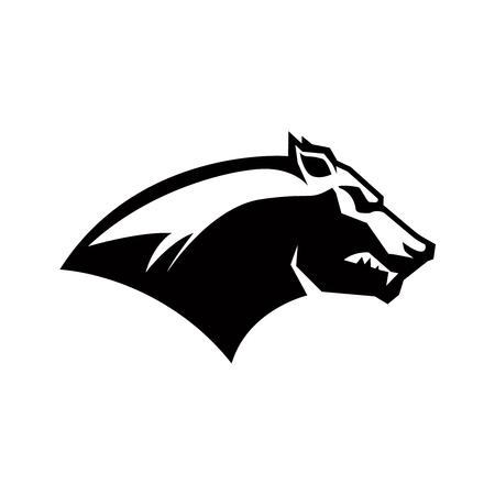 cougar icon. Design element for sign, badge, t shirt, poster. Vector illustration