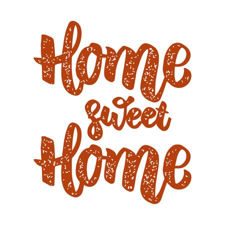 Home sweet home. Design element for poster, menu, banner. Vector illustration Illustration