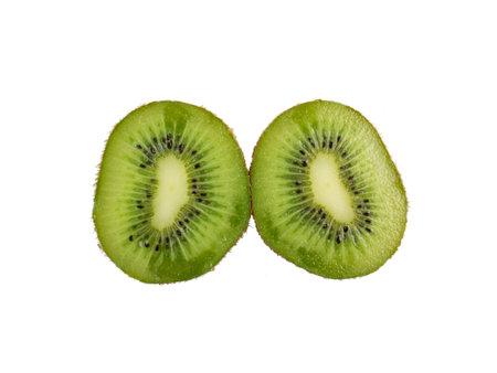 Sweet kiwi isolated on white background