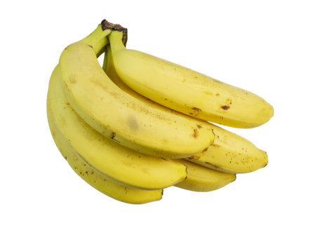 Bananas. Fruit isolated on white background