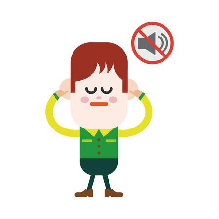 prohibido: Ilustración, diseño de personajes. Boy estaba prohibido hablar de dibujos animados, eps