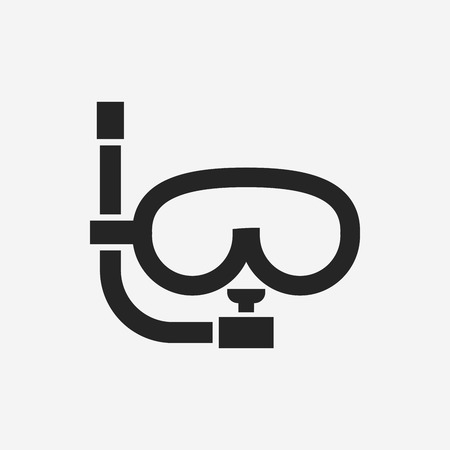 ski wear: Goggles icon