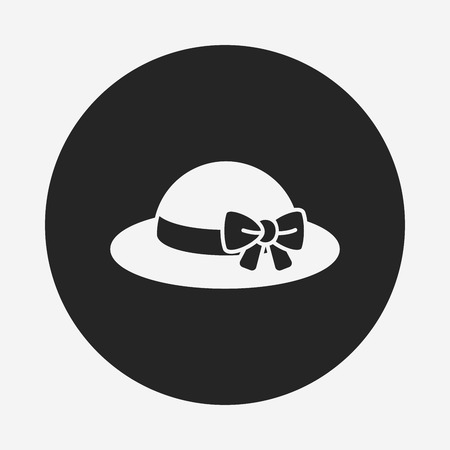Sun hat icon Vector