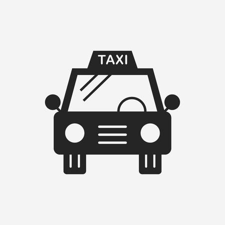 taxi: taxi icon Illustration