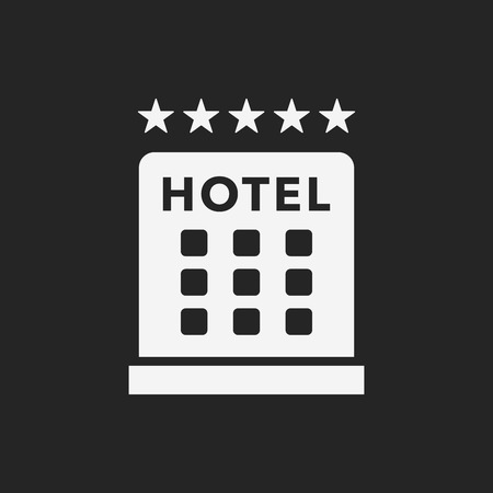 hotel bed: hotel icon