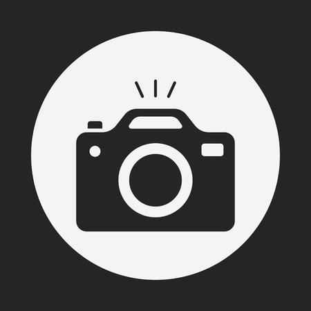 camera icoon Stock Illustratie