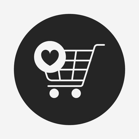 shopping cart icon: shopping cart icon