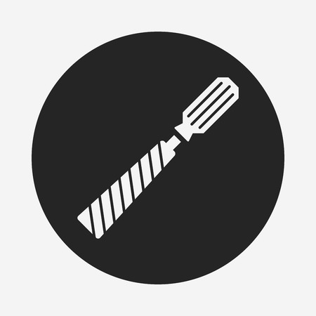 screwdrivers: Screwdrivers icon Illustration