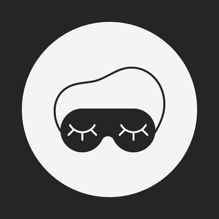 eye mask: eye mask icon