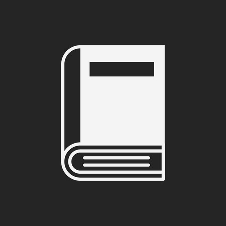 notebook: notebook icon Illustration