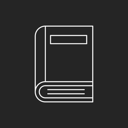 notebook line icon Vector