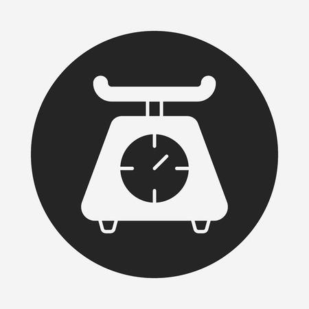 weigh machine: Weighing machine icon