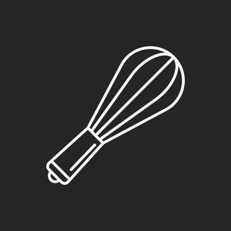 beater: icono de l�nea batidor