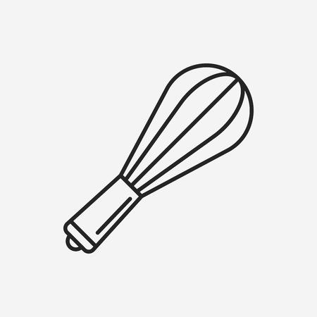 beater line icon Illustration