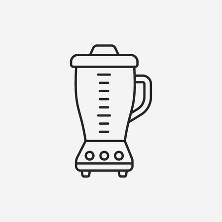 squeezer: juicer line icon