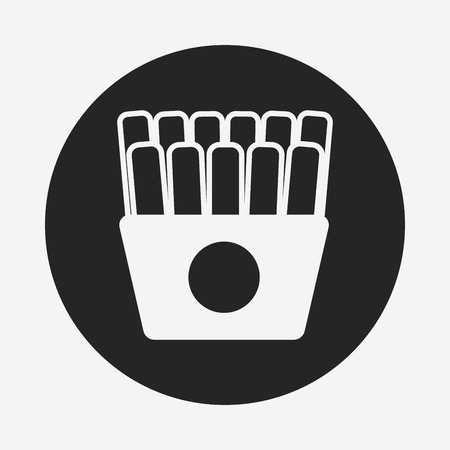 fries: french fries icon