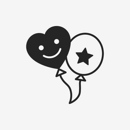 baby toy: baby toy balloon icon