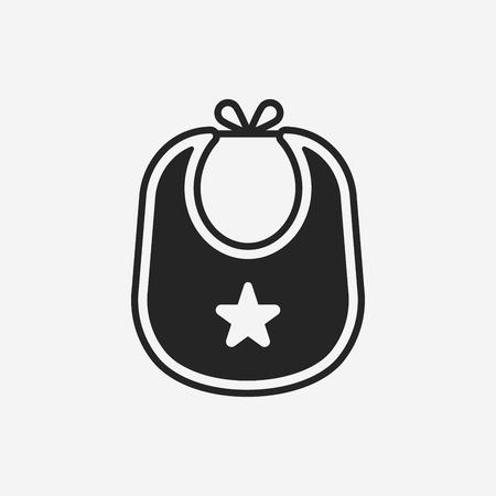 Babyslab icoon Vector Illustratie