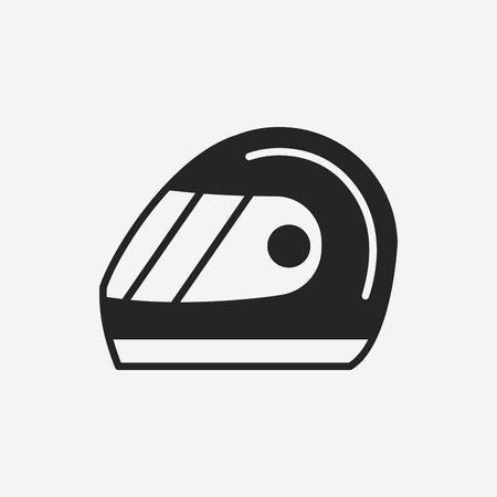 racing: Racing helmet icon