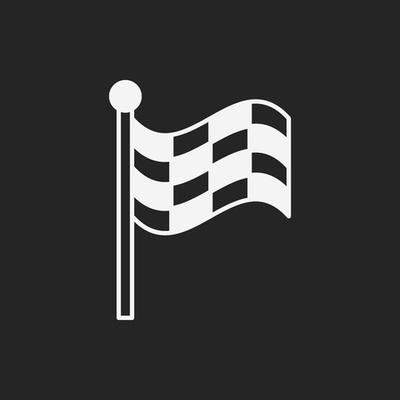 racing: Racing flag icon