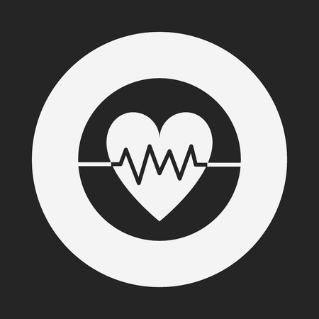 ecg: ECG icon Illustration