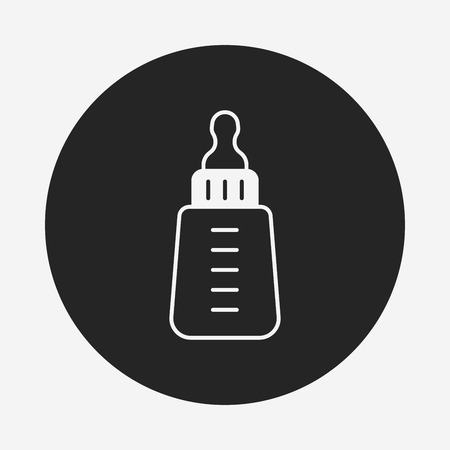 bottle feeding: Feeding bottle icon