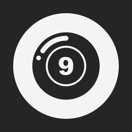 snooker room: Billiards icon